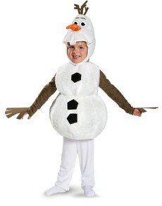 Olaf deluxe costume for a child
