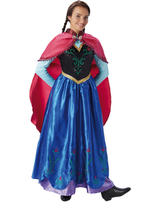 Womens Anna Frozen Costume