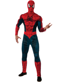 Adults Spiderman Marvel Deluxe Costume