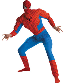Muscly Spiderman Adult Costume